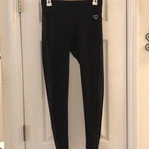 ◾️4/$12 - detailed black leggings